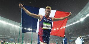 Athlète complet et comblé, Kévin Mayer, Champion du monde
