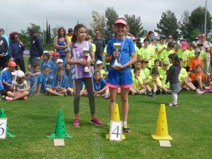 Une place d'honneur de plus pour Laetitia après son podium aux championnats du Var de cross!