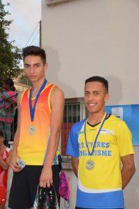 Yunes, le bronze sur 400m