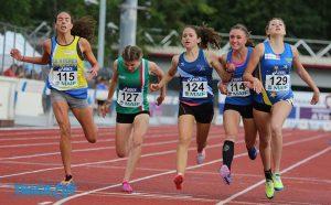 Lison, cinquième des championnats de France.Championne régionale du 1500m