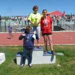 Isabelle, des podium et des titres. Un haut niveau de performance