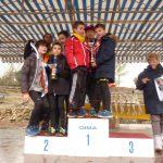 L'équipe des benjamins vice championne du Var de Cross