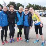 L'équpe féminine d'Ekiden (marathon en relais) sur le podium à Toulon